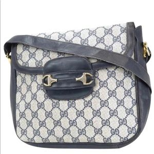 authentic GUCCI GG Plus Old Gucci Shoulder Bag